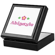 "Pink Daisy - ""Abigayle"" Keepsake Box"