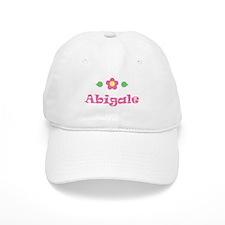 "Pink Daisy - ""Abigale"" Baseball Cap"