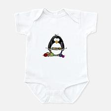Knitting Penguin Infant Bodysuit