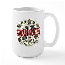 Stink Bug apocalypse lgt Mugs
