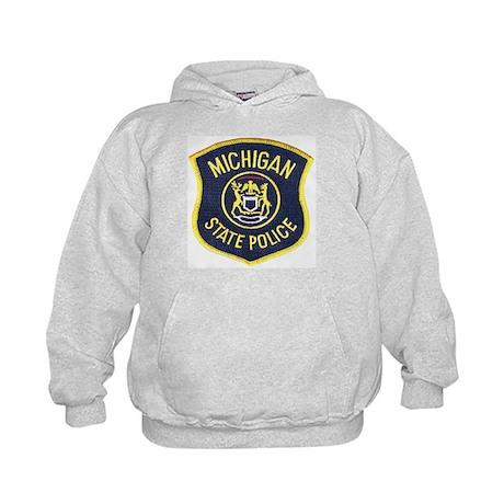 Michigan State Police Kids Hoodie