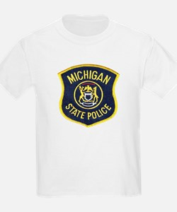 Michigan State Police Kids T-Shirt