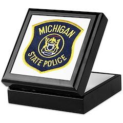 Michigan State Police Keepsake Box