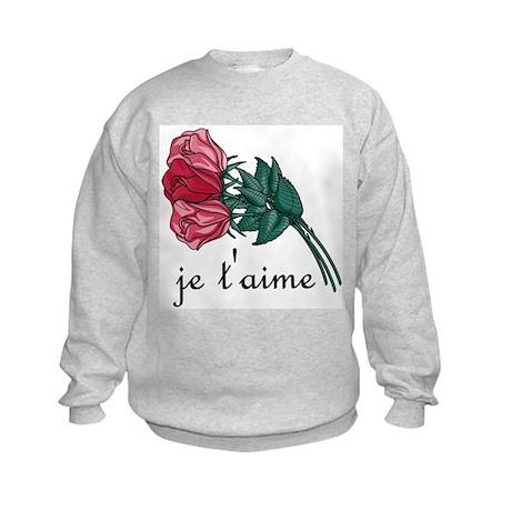Je T'Aime Kids Sweatshirt