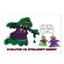 Evolution Vs ID Postcards (Package of 8)