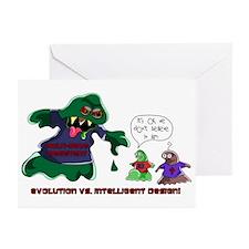 Evolution Vs ID Greeting Cards (Pk of 10)