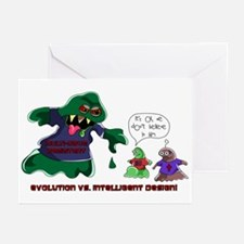 Evolution Vs ID Greeting Cards (Pk of 10)