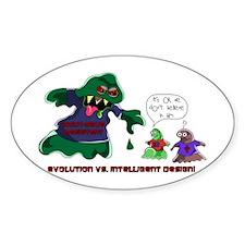 Evolution Vs ID Oval Decal