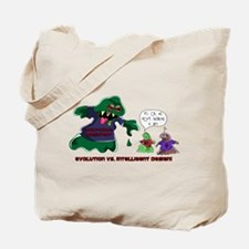Evolution Vs ID Tote Bag