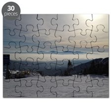 Skiing Above the Clouds Puzzle