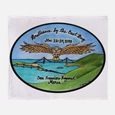 SFRM 2013 RG Owl Logo Throw Blanket