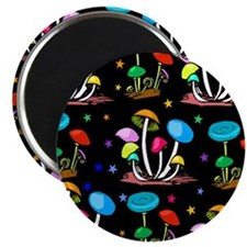 Rainbow Of Shrooms Magnet