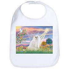 Cloud Angel White Persian Bib