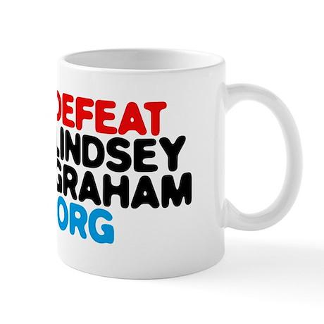 DefeatLindseyGraham.org Mug