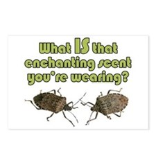 Stink Bugs enchant lgt Postcards (Package of 8)