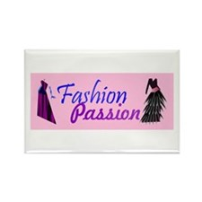 Fashion Passion Rectangle Magnet