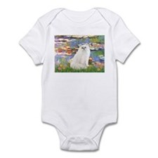 Monet's Lilies & White Persia Infant Bodysuit
