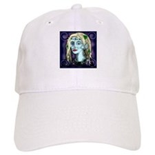 Portrait of a Blue Elf Baseball Cap