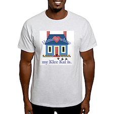 Alaskan Klee Kai Home Ash Grey T-Shirt