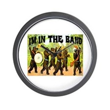 I'M WITH THE BAND Wall Clock