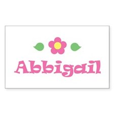 """Pink Daisy - """"Abbigail"""" Rectangle Decal"""
