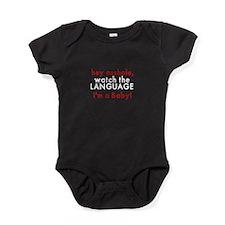 Watch the Language Baby Bodysuit