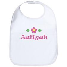 "Pink Daisy - ""Aaliyah"" Bib"