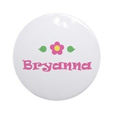 "Pink Daisy - ""Bryanna"" Ornament (Round)"