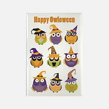 Happy Owloween Magnets