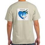 Joe Bark Surfboard Grey Shirt