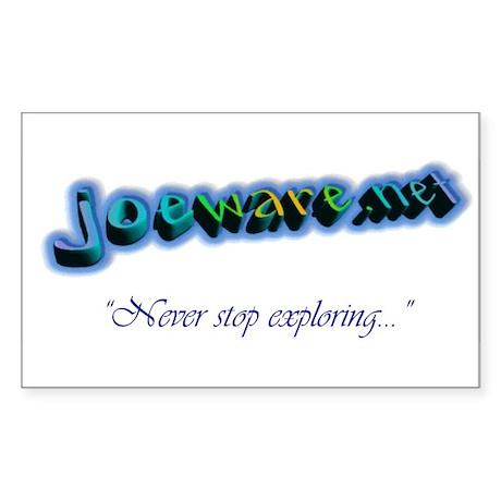 joeware.net Rectangle Sticker