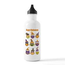 Happy Owloween Water Bottle