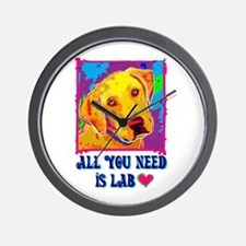 All You Need is Lab Wall Clock