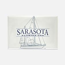 Sarasota FL - Rectangle Magnet