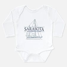 Sarasota FL - Long Sleeve Infant Bodysuit