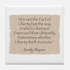 Tile Coaster: Liberty-Thompson