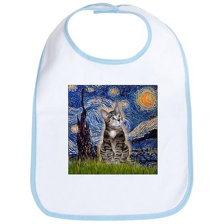 Starry / Tiger Cat Bib