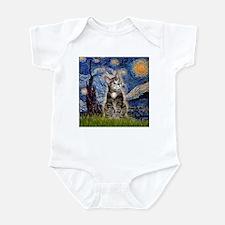 Starry / Tiger Cat Infant Bodysuit