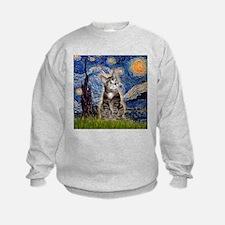 Starry / Tiger Cat Sweatshirt