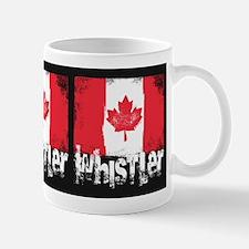 Whistler Grunge Flag Mug
