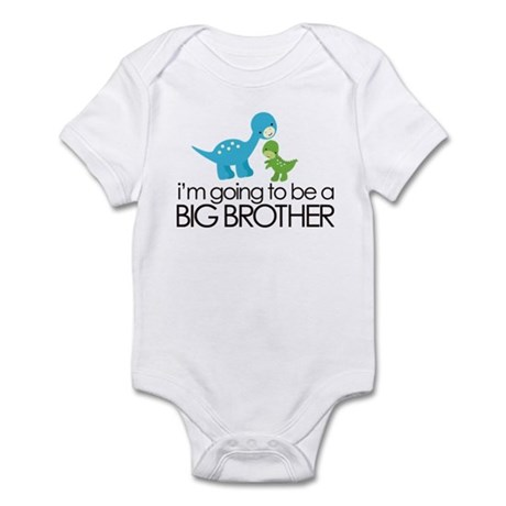 i'm going to be a big brother dinosaur Infant Body