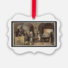 Drunk As a Monk Ornament