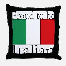 Italy Throw Pillow