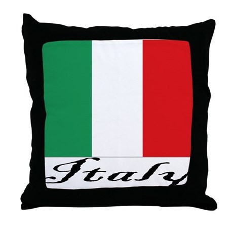Italy Throw Pillow