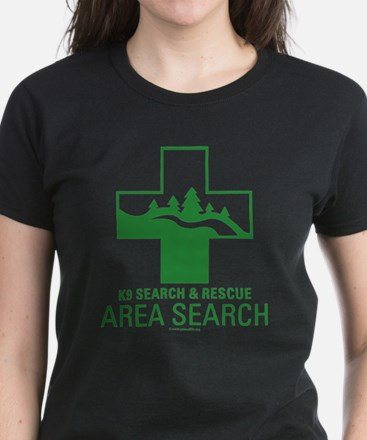 Area Search Crosses T-Shirt