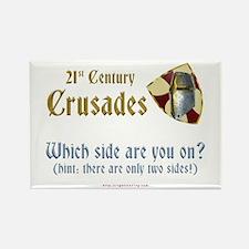 21st Century Crusades Rectangle Magnet