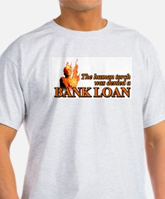 Bank Loan Ash Grey T-Shirt