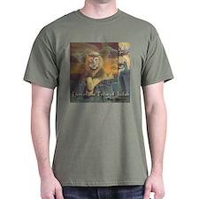 """""""Lion of Judah"""" Fine Art Chrsitian Color T-Shirt"""