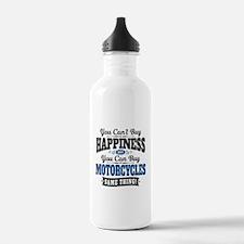 Biker Happiness Water Bottle