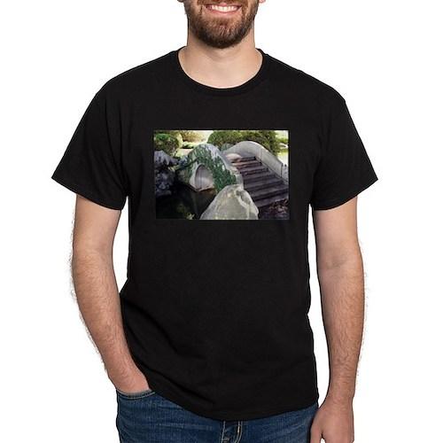 Chinese garden bridge T-Shirt